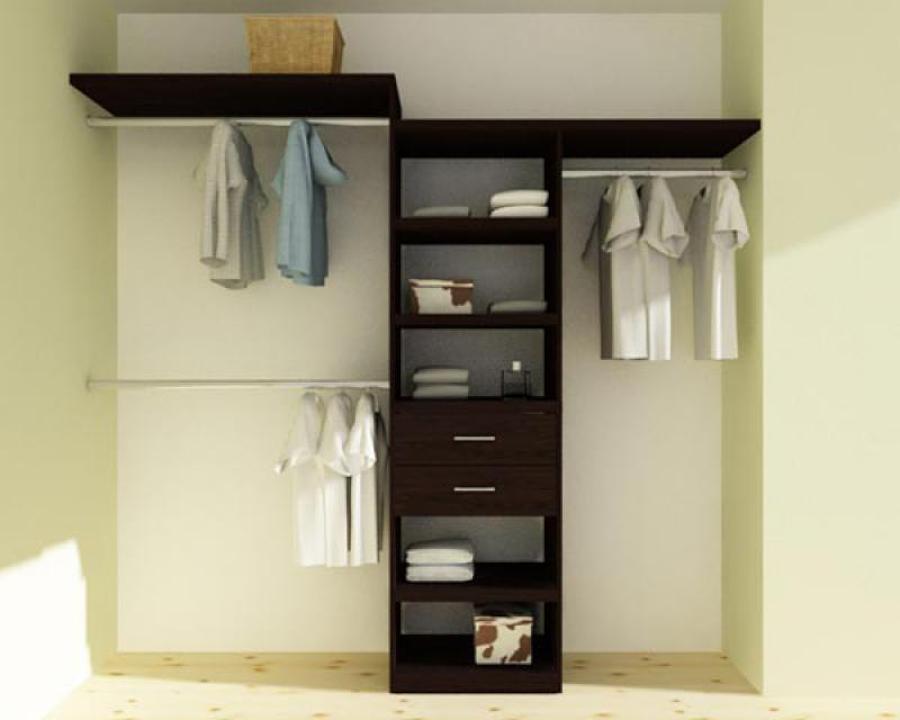 Closet minimalista medidas ancho 40 cm medidas alto for Cotizacion de closets
