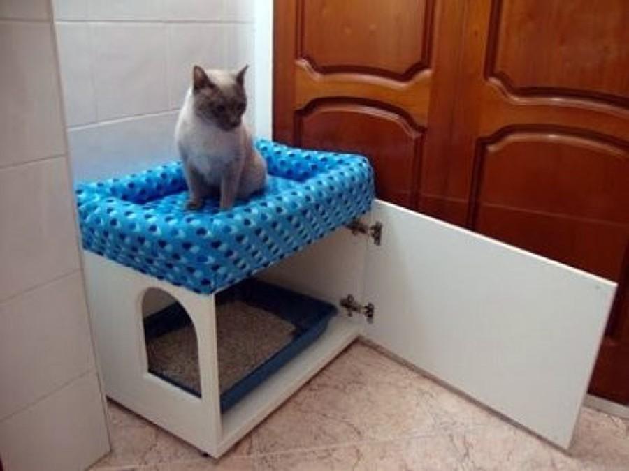 Casa para gato en melamina blanca cuauht moc distrito for Cuccia per cani ikea prezzi