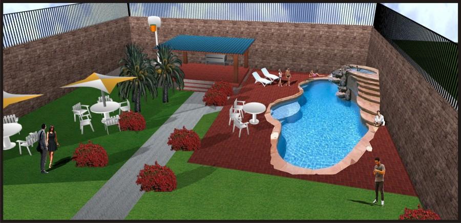 Construir alberca concreto centro chalco estado de for Costo de una alberca de concreto