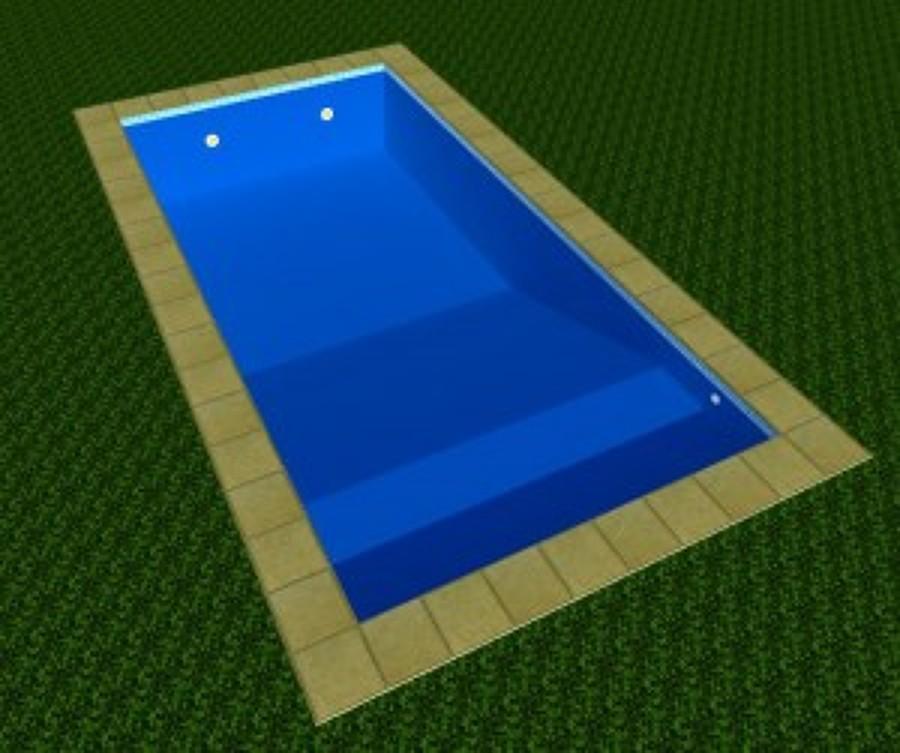 Construir alberca 8 x 4 mts con una profundidad desde 0 60 for Costo de una alberca en casa