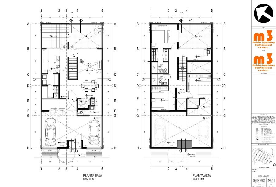 Dise o de interiores para complementar dise o ejecutivo de for Diseno de casa habitacion