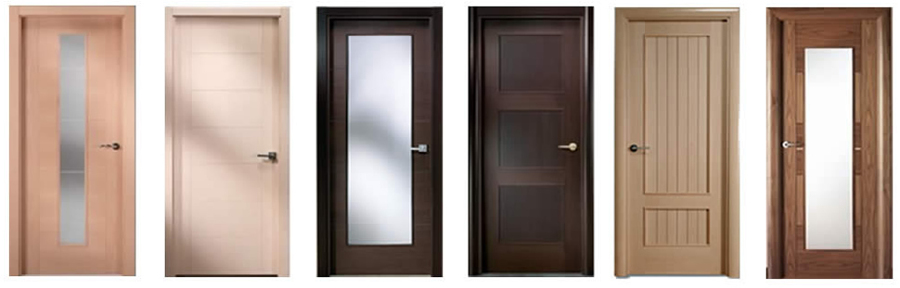 Puertas de ba o minimalistas for Puertas para recamaras modernas