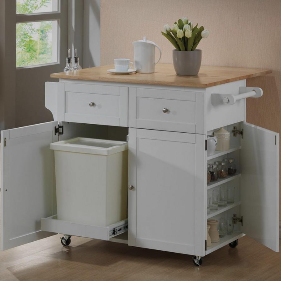Muebles para un microondas y un librero centro de la for Muebles de cocina para microondas