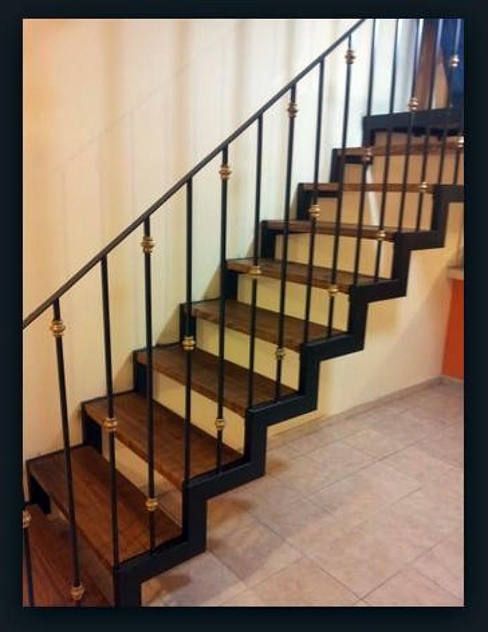 Aluminio y herrer a lvaro obreg n distrito federal for Escalera electricista madera