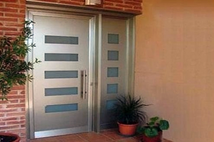 Proveer puerta principal para exterior edificio 1 84 de for Ancho puerta entrada casa