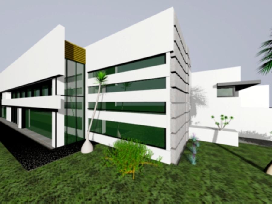 Fachada con tablacemento para recubrimiento de muros - Recubrimiento de fachadas ...