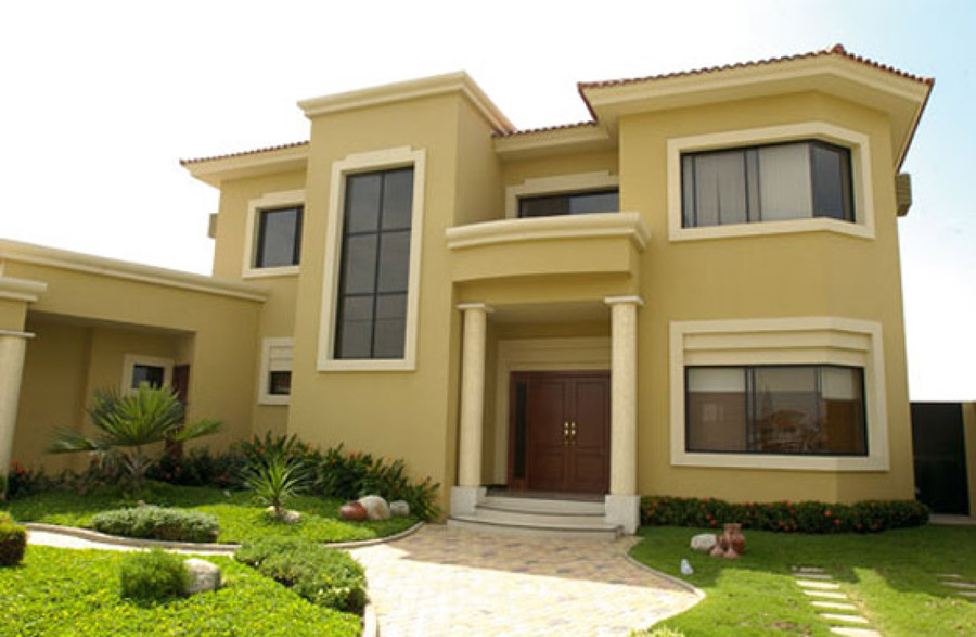 Colores de la casa estilo rancho exteriores - Fachadas exteriores de casas ...