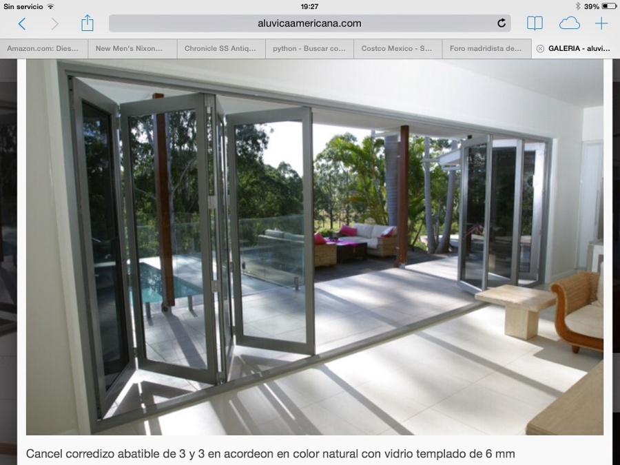 Puertas plegables aluminio precios images - Precio puertas plegables ...
