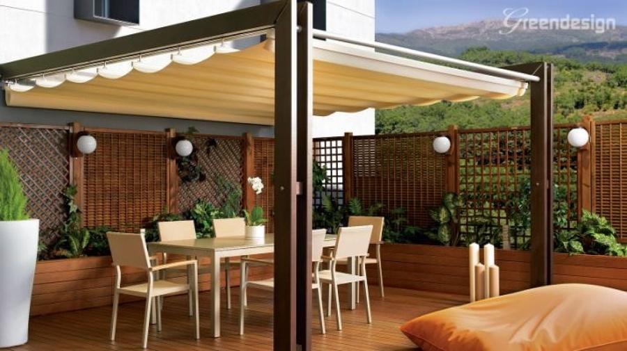 Toldo para roof garden benito ju rez distrito federal - Techos retractiles para terrazas ...