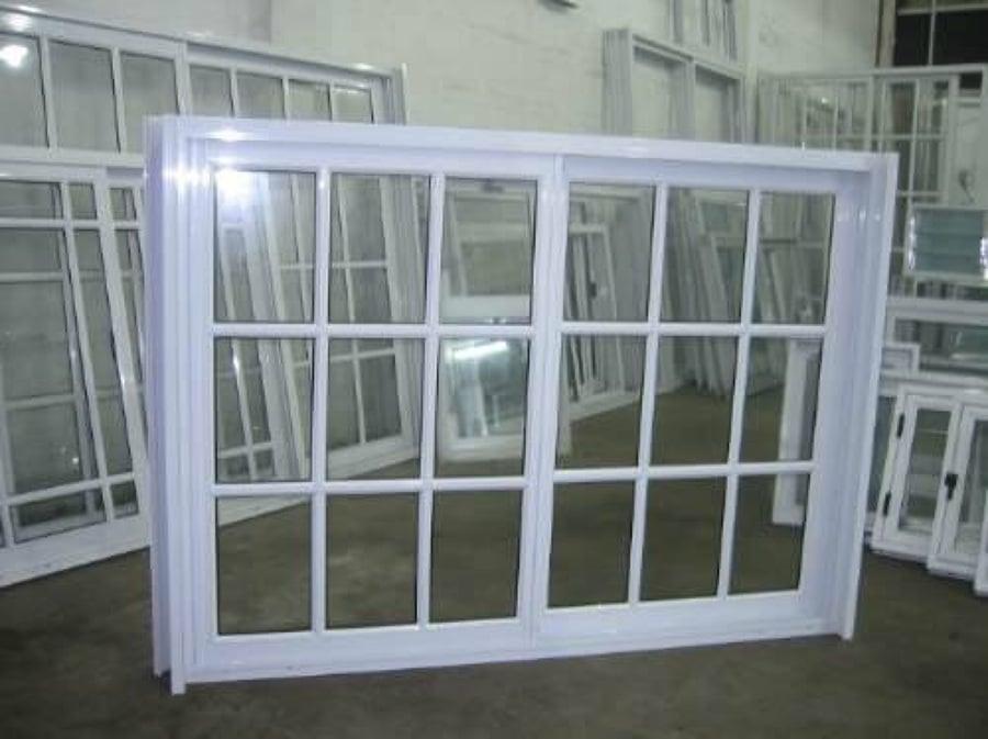 Ventanas de aluminio con y sin protecciones colinas del for Closets queretaro