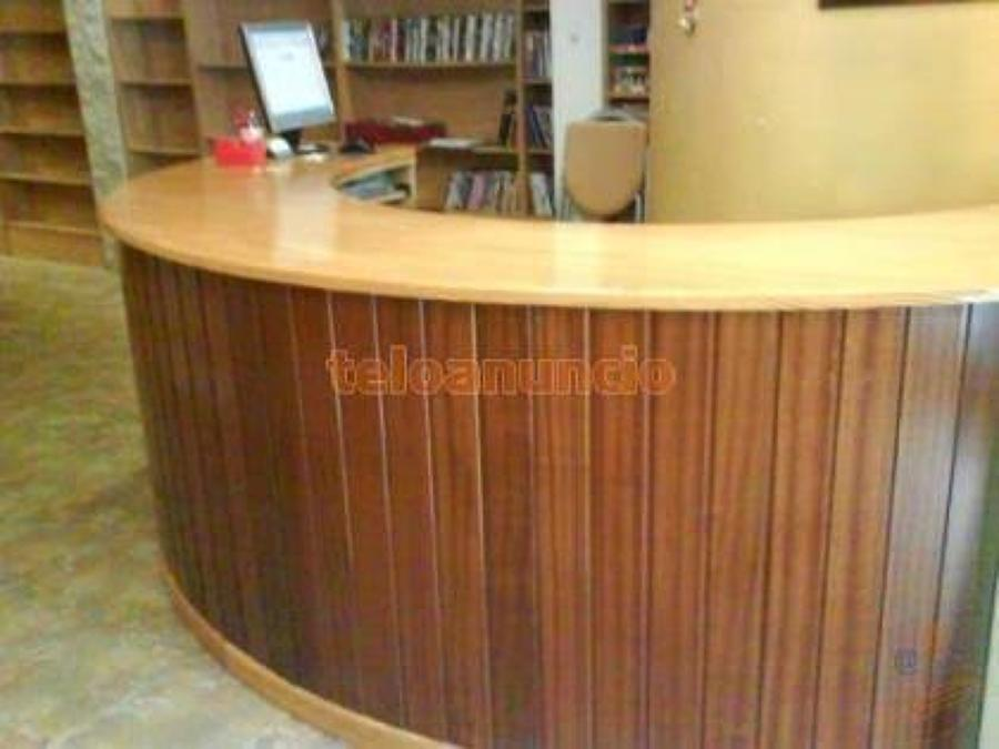 Cotizacio de vitrinas y mostrador para negocio tl huac - Mostradores de madera para negocios ...