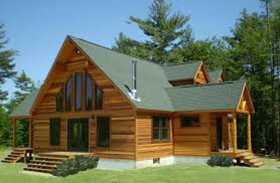 Construir una casa de tabla 3 recamaras en la parte de - Cuanto cuesta una casa de madera ...