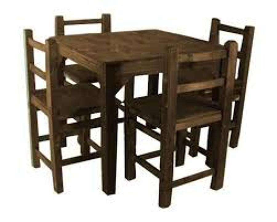 Proveer mesas y sillas para fonda providencia puebla - Mesas de noche rusticas ...