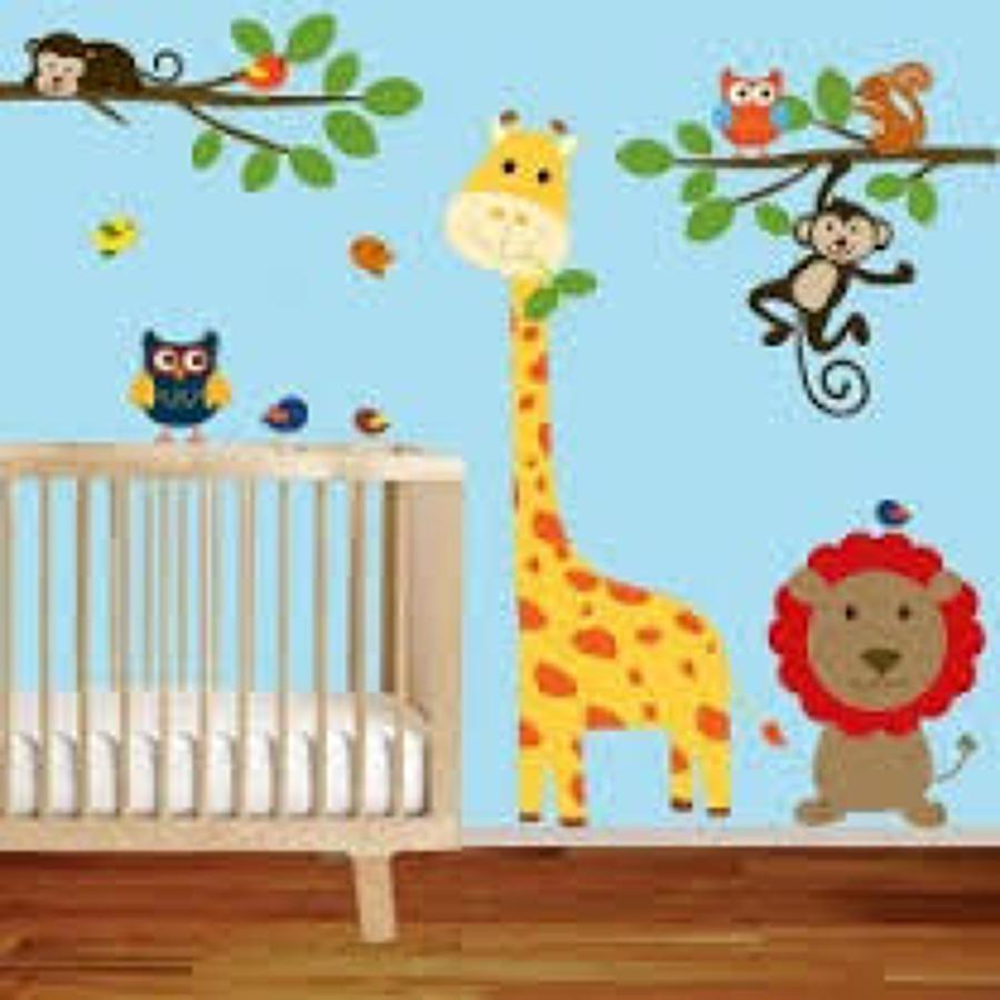 Pintar estancia para ni os con dibujos miguel hidalgo for Murales decorativos para bebes