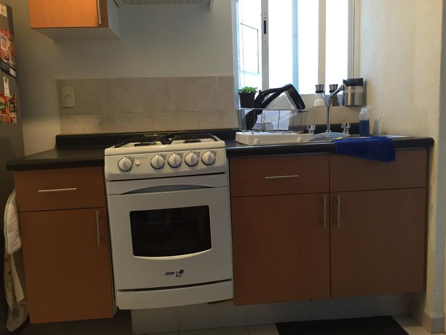 Peque a remodelaci n cocina mueble 182cm san rafael for Remodelacion de cocinas pequenas