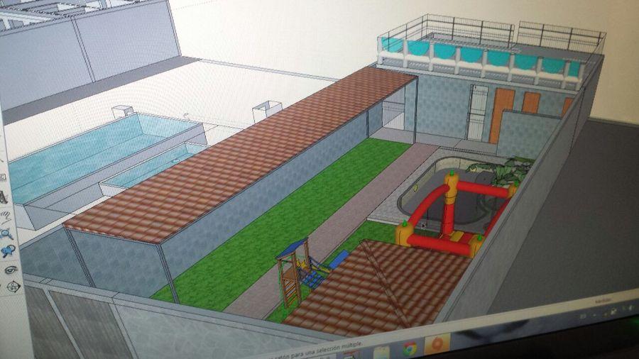 Construcci n de piscina chapoteadero todo incluido for Costo de una alberca de concreto