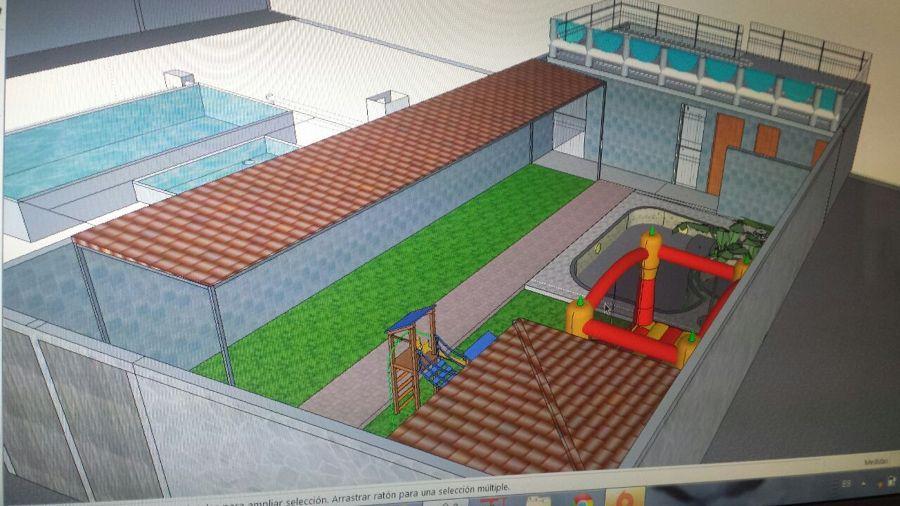 construcci n de piscina chapoteadero todo incluido