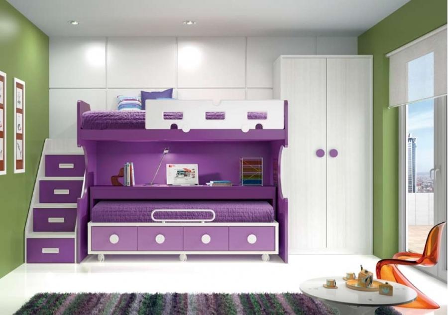 Instalar closet vestidor y cama litera monterrey nuevo - Dormitorios infantiles dos camas ...