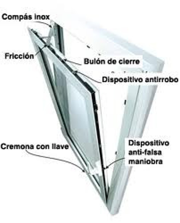 Ventana oscilo basculante le n guanajuato habitissimo - Ventanas oscilobatientes aluminio precios ...
