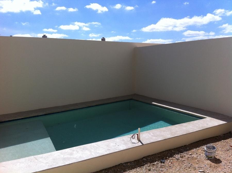 Construcci n de piscina brisas de chuburna m rida - Precio construccion piscina ...