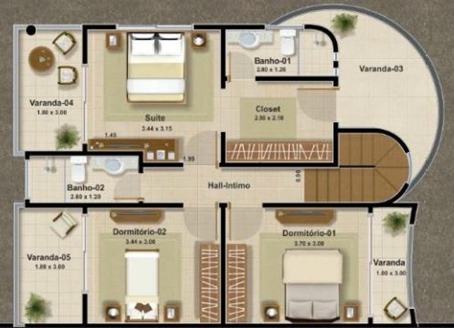 Redactar proyecto casa habitaci n terreno de 10x20 mts for Planos de casas de dos pisos con medidas