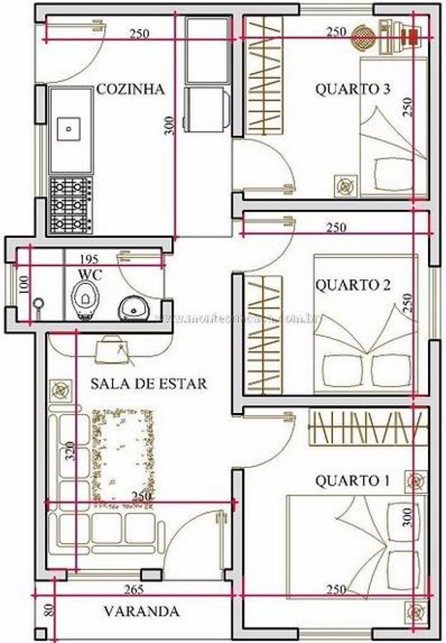 Medidas ba o casa habitacion for Bano 2 metros cuadrados