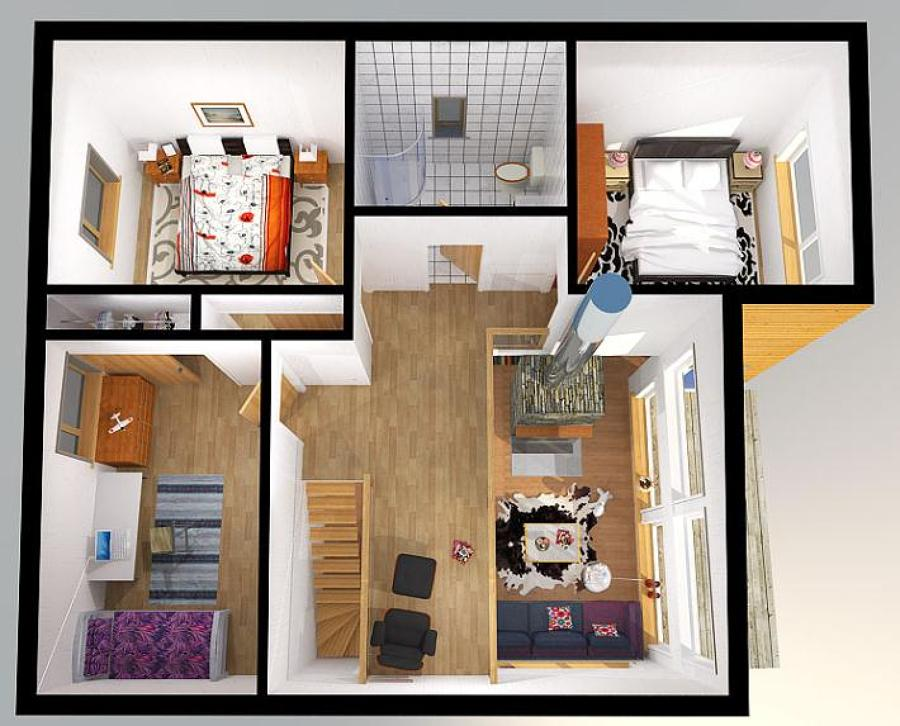 Planos para construir una casa de 80 mt2 cuautitl n - Construir una casa precio ...
