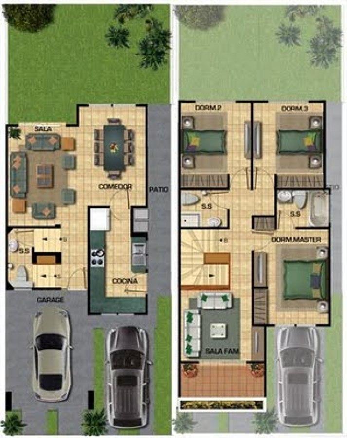 Construir casa en terreno de 10 x 20 tlaxcala tlaxcala for Dormitorio 10 metros cuadrados
