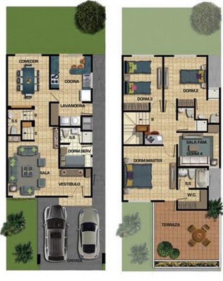 Baño Pequeno E Irregular:Costrucion de casa de 187 m2 en terreno de 150 m2 – Querétaro