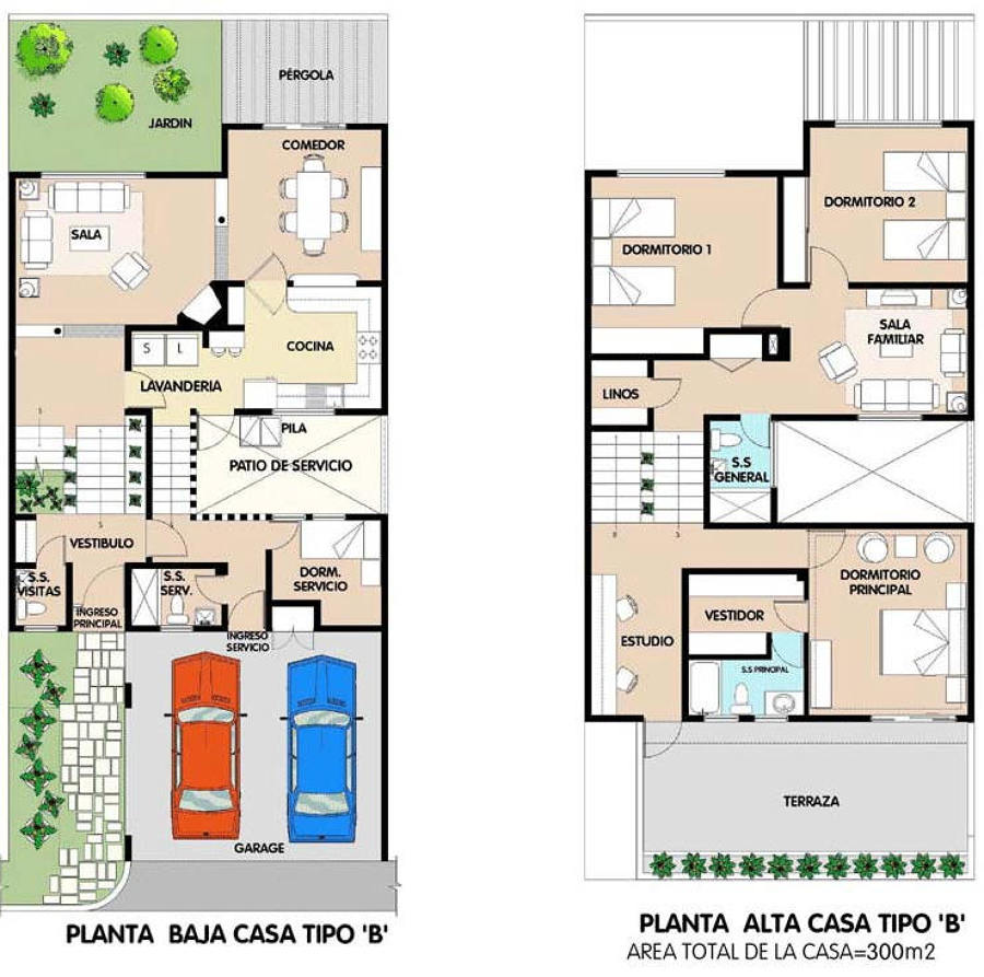 Presupuesto casa 2 pisos toluca estado de m xico for Planos de casas para construir gratis