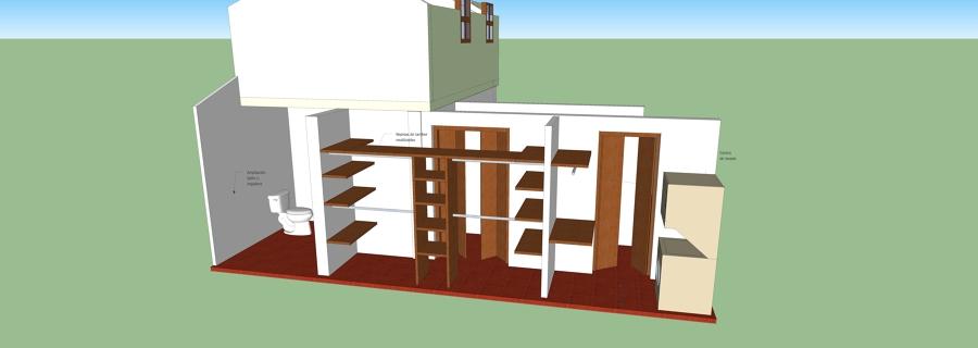 Puertas Para Baño En El Distrito Federal:Precio de Ampliación de un pasillo para hacer clóset, mini