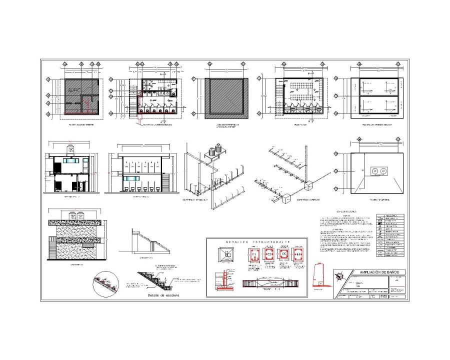 Medidas Regadera De Baño:propuesta baños-Model_28177