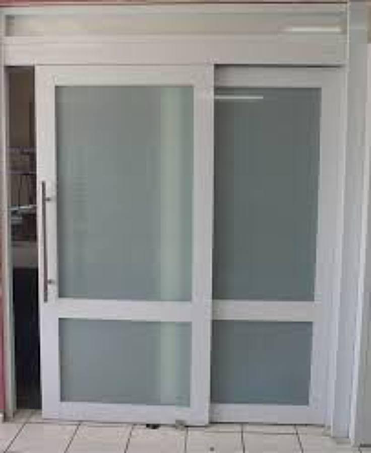 Puertas De Aluminio Para Baño Interior:Precio de Puerta corrediza de aluminio/pvc para interior