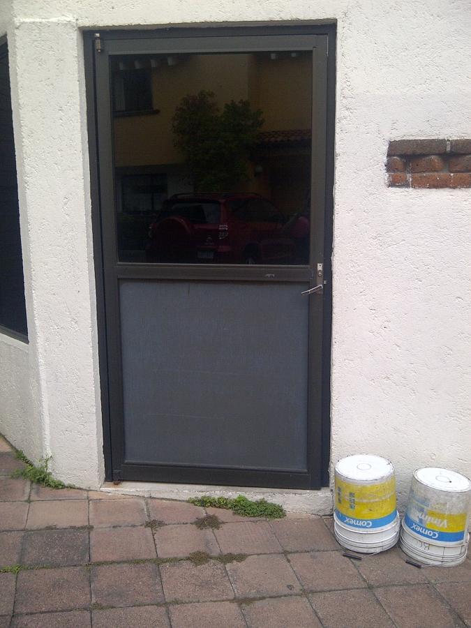 Puerta de aluminio la magdalena contreras distrito for Costo puerta aluminio