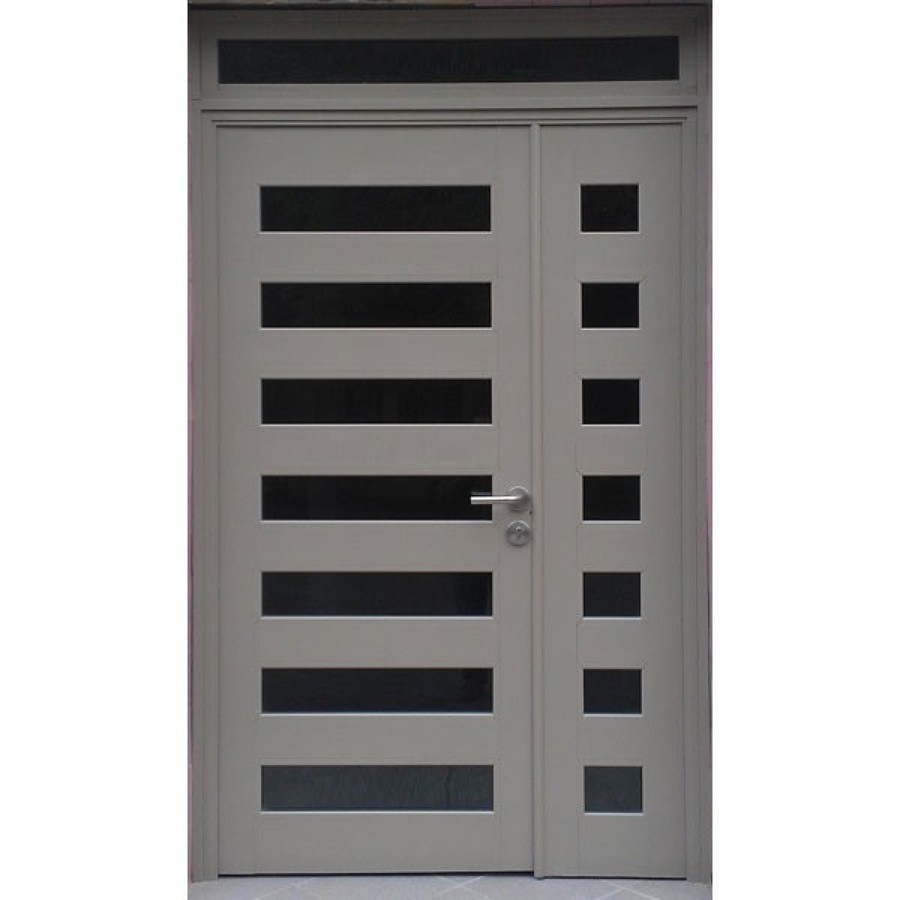 Puertas De Aluminio Blanco Para Baño:de Proveer puerta de aluminio con 5 divisiones comercial de 2 10 de