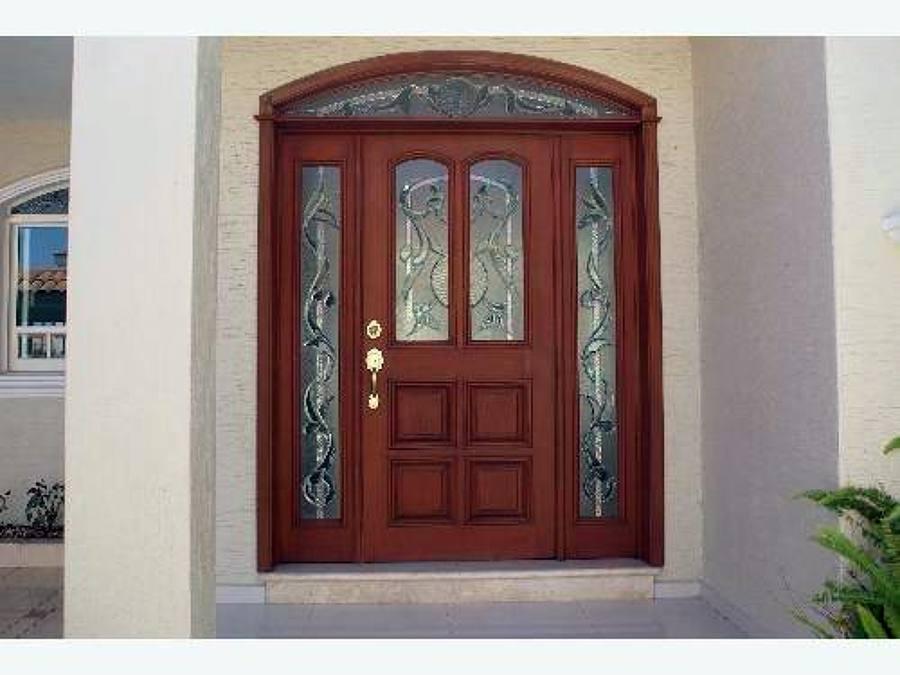 Puertas de entrada principal related keywords for Puertas en casas modernas