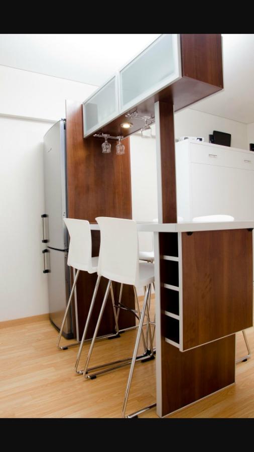 Cambio de formaica tono y dise o de barra en la cocina y for Diseno de muebles para cuarto de lavado