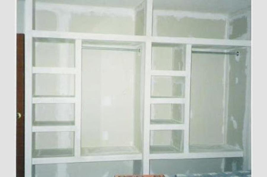 Closet de tabla roca en un muro de 4 x 2 20 aprox for Closets estado de mexico