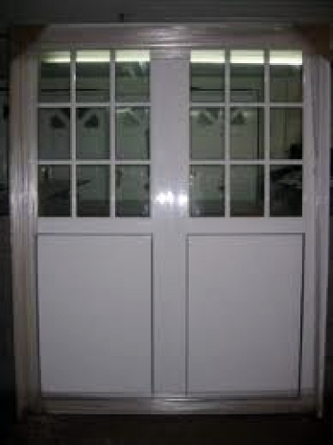 Zagu n para exterior milpa alta distrito federal for Puertas de aluminio para exterior precios