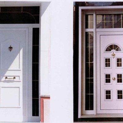 Poner puerta de aluminio entrada principal tepeji del - Puertas de aluminio para entrada principal ...