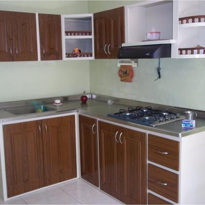 Cubierta acero inoxidable cocina integral naucalpan de - Cocina de acero inoxidable precio ...