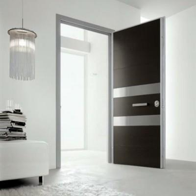 Fabricaci n de puertas de madera minimalistas coyoac n Puertas de madera interiores minimalistas