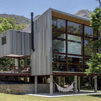 Dise o de casa con estructura metalica celaya - Precio estructura casa ...