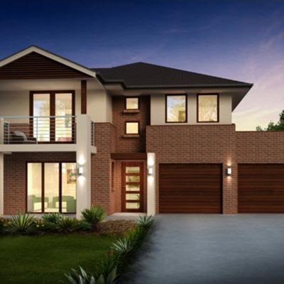 Construir casa habitaci n moderna en terreno de 400 m for Cuanto sale hacer una piscina de cemento