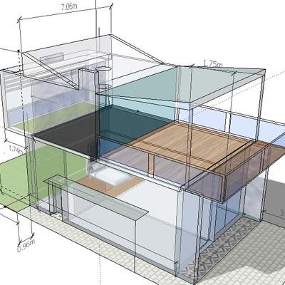 Construir casa moderna y fresca benito ju rez quintana - Construir casa moderna ...