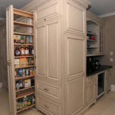 Hacer divisiones y canaletas en cajones de alacena para - Muebles ahorra espacio ...