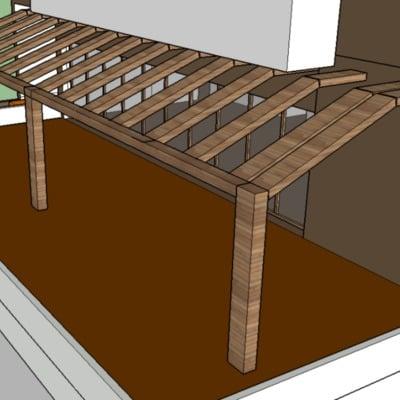 Techo de terraza de madera monterrey nuevo le n - Techos para terrazas precios ...