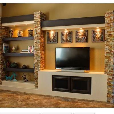 Crear centro de entretenimiento en la sala el limoncito for Mueble de entretenimiento para sala