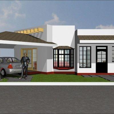 Remodelacion de casa de una sola planta a una de dos for Casa minimalista veracruz