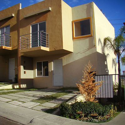 Pintar exterior casa 2 pisos tijuana baja california habitissimo - Como pintar casas ...
